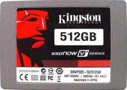 SSD народу! Kingston SSDNow V+ series 512 Гбайт